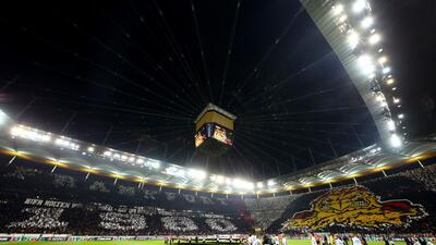 En fotos:  Eintracht Frankfurt se aprovecha de una inestable Lazio en la Europa League