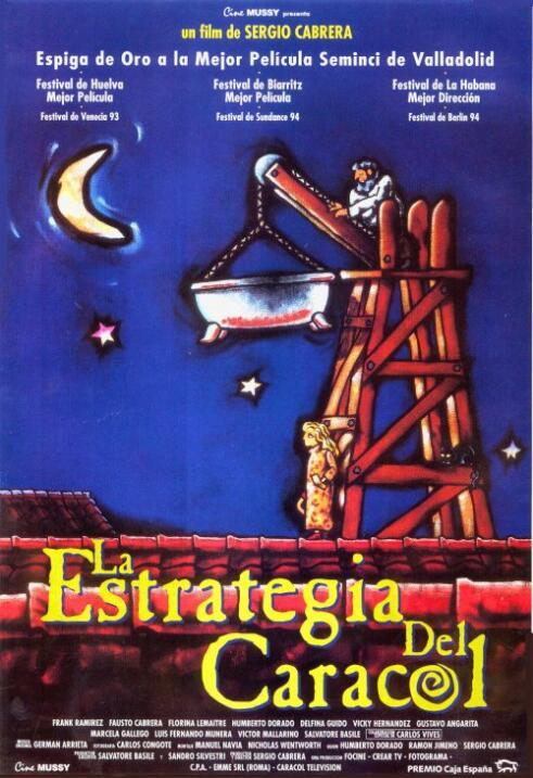 La estrategia del caracol(1993) ColombiaDirector: Sergio CabreraReparto:...