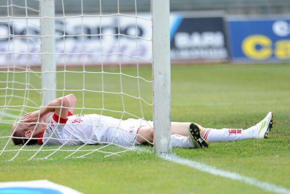 Y por si eso no era demasiada mala suerte, un gol en contra sentenció el...