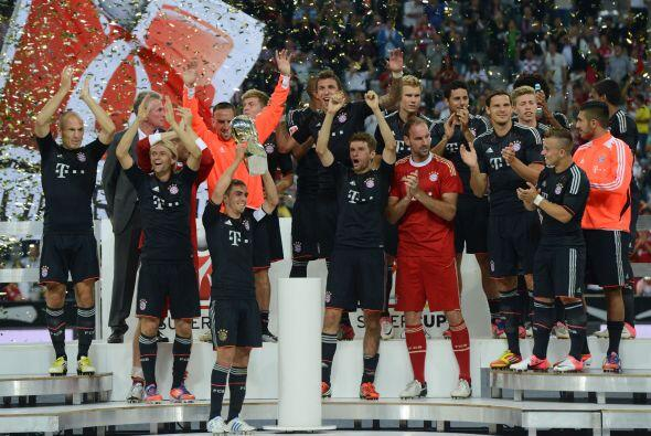 El Bayern apenas y logró vengarse en la Supercopa alemana, justo vencien...