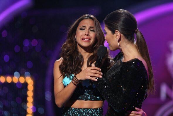 Aly fue salvada, por lo que Gabriela se convirtió en la quinta el...