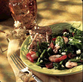 Ensalada de espinacas y camarón: La afición de Popeye por...