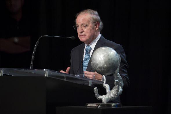Su galardón fue recibido por el periodista José Ramón Fernández,