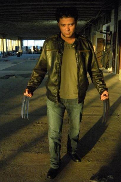 Miren a nuestro Wolverine! No, es Dj Fuzion!