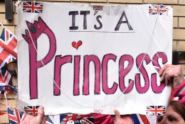¡La princesa está aquí!