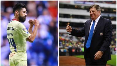 '10 Year Challenge': Oribe Peralta y Miguel Herrera estaban así en el 2009