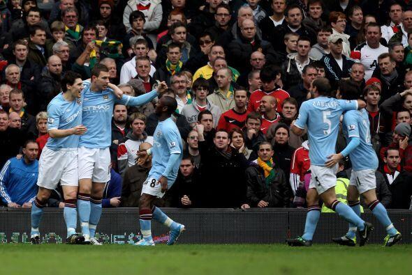 Era el 1 a 1, merecido resultado para el clásico de Manchester.