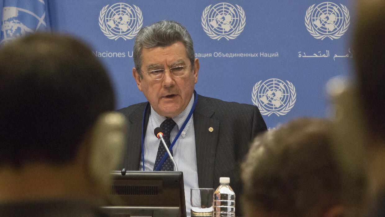 Elvio Roselli, embajador uruguayo en la ONU