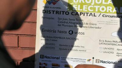 Oposición celebra las elecciones primarias en Venezuela