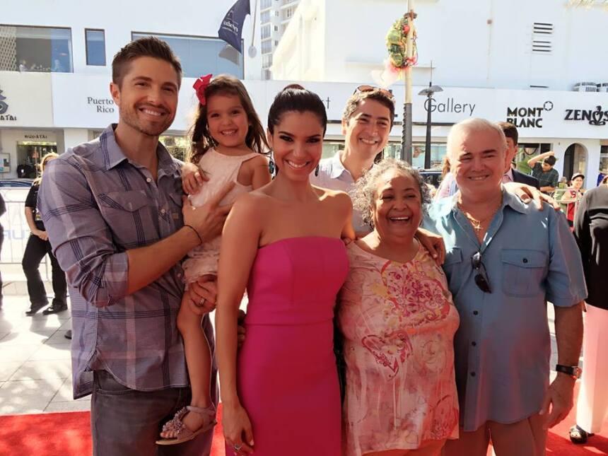 La boricua pasó unos días espectaculares con su esposo Eric, su hija Seb...