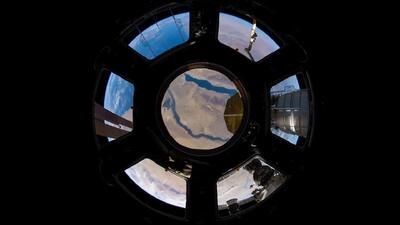 Astronauta se despide de la Estación Espacial con espectaculares imágenes de la Tierra