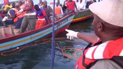 Más de 100 muertos deja el naufragio de un ferry en un lago de Tanzania