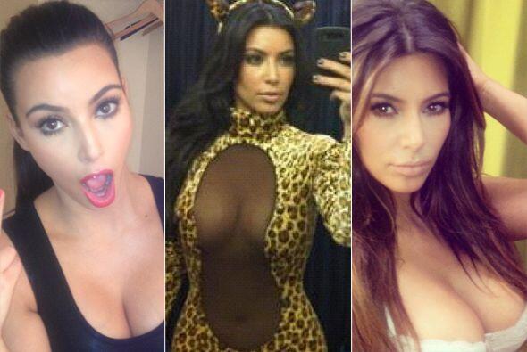 """""""Selfish"""" es el libro de Kim compuesto  de las 'selfies' que se ha tomad..."""