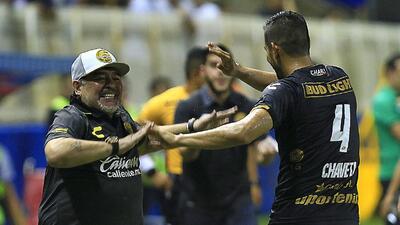 En fotos: la goleada de Dorados en el debut de Diego Maradona como técnico en México