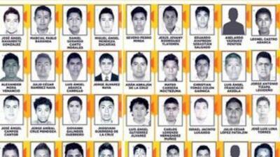 Fotografías de los estudiantes desaparecidos en Iguala, Guerrero. Fotogr...