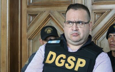 El exgobernador Javier Duarte.