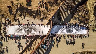 La exposición de 'Kikito' en el muro fronterizo llegó a su fin c...
