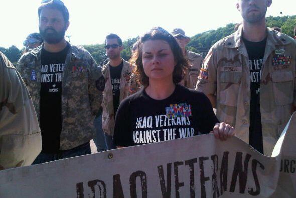 El grupo también pide el regreso de soldados que aún se encuentran en es...