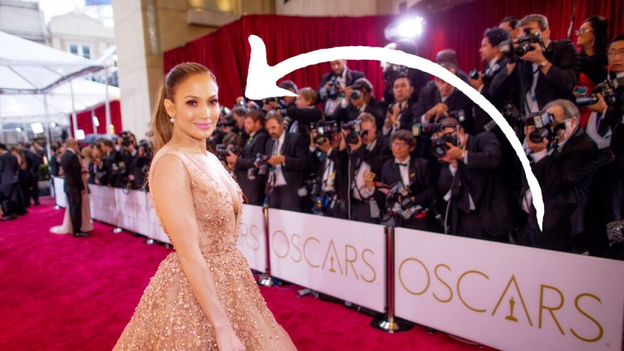 Jennifer Lopez attends the 87th Annual Academy
