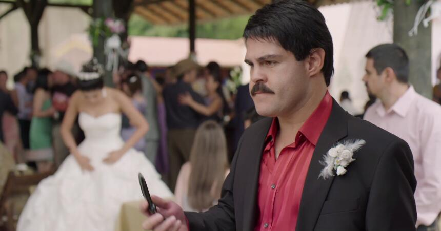 El Chapo y Elba boda