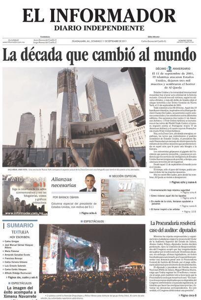 Cortesía de El Informador de Guadalajara, México, vía Newseum.