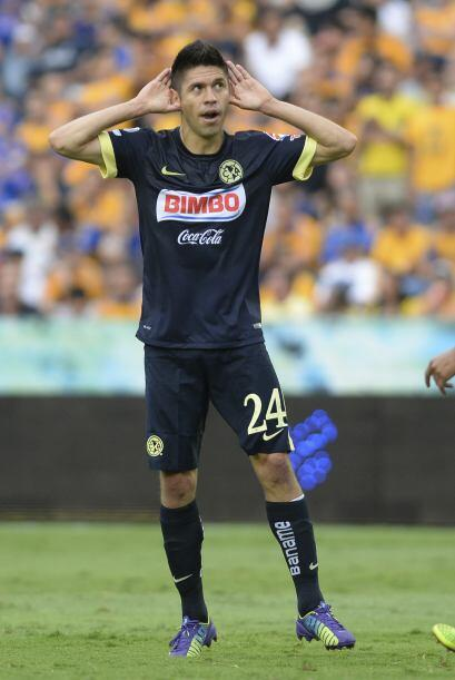 15.- Oribe Peralta. El delantero del América es el mejor pagado de la Li...