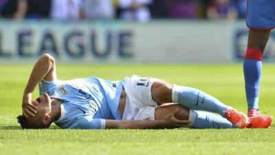 El atacante del City no jugará la primera jornada de la Champions League
