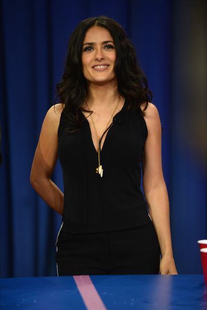 Salma Hayek nació un 2 de septiembre de 1968.