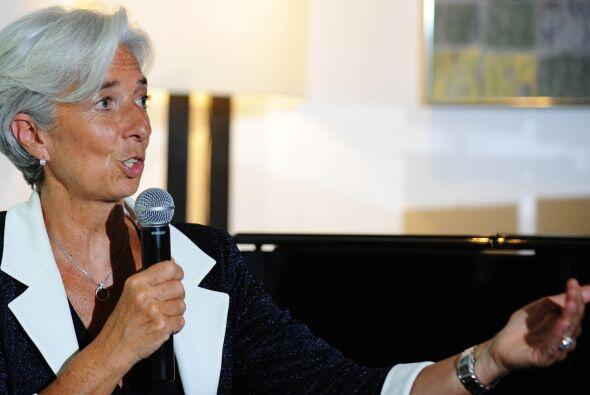 Christine Lagarde, ministra francesa de Finanzas y candidata a dirigir e...