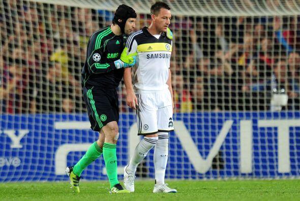 Terry tuvo que ser retirado del campo de juego porque se lo veía nervioso.