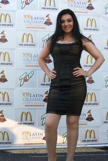 Además Graciela lució cuerpazo al posar tras bastidores.