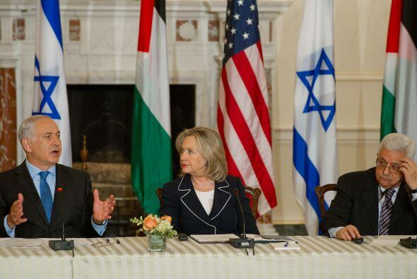 La secretaria de Estado de EU Hillary Clinton fue la anfitriona de las c...