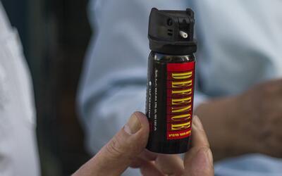 Una persona habría rociado gas pimienta al guardia de seguridad de Forev...