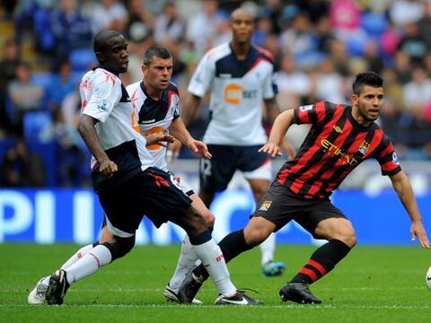 Manchester City, con Sergio Agüero incluído, enfrentó...