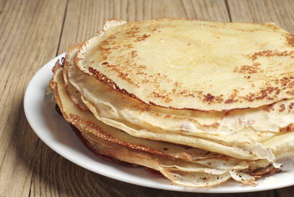 Lo tradicional son los panqueques o 'hot cakes', los puedes hacer con ha...