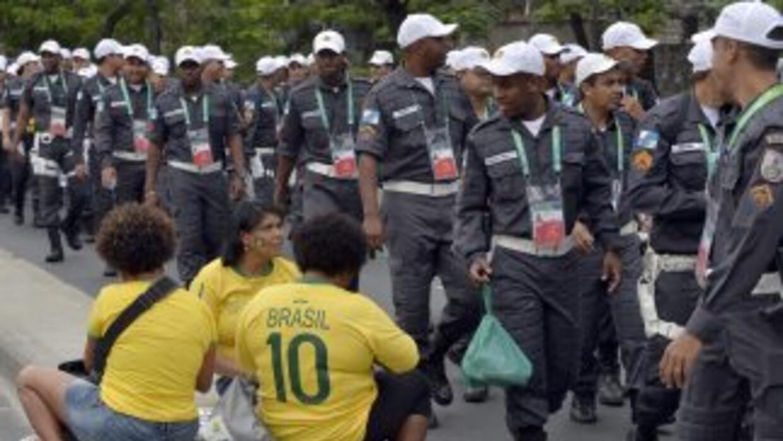 Protestas en Brasil.