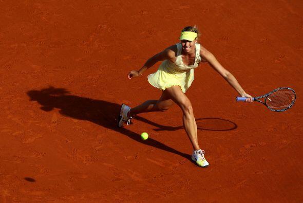 Después del berrinche de MAria Sharapova que los franceses ocasio...