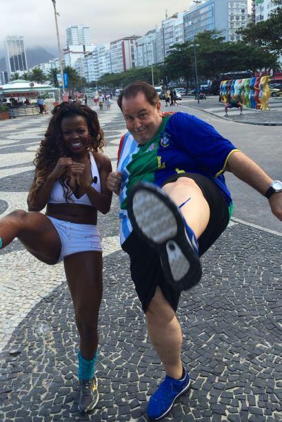 El Gordo de Molina está listo para conocer más de Brasil.