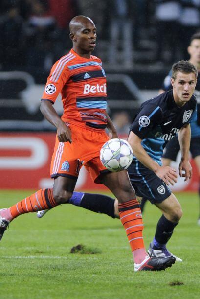 En Francia, el Olympique de Marsella cayó ante el Arsenal.