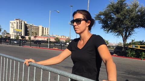 Marcela Alves, sobreviviente del tiroteo en Las Vegas, quien trabajaba e...