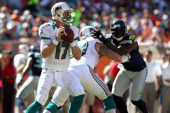 Los Dolphins consiguieron un agónico triunfo ante los Seahawks 24-21.