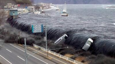 Tsunami, olas de la destrucción