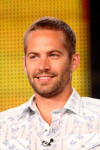 Paul durante la presentación de un proyecto de TV de National Geographic...