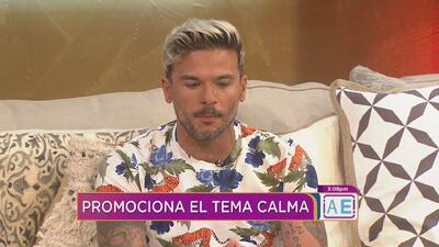 """Pedro Capo promociona su nuevo sencillo """"Calma"""""""