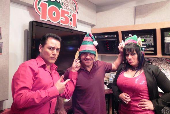 ¡Los DJs del Show de La Botana de La Que Buena 105.1 FM, Auri, Primo y M...