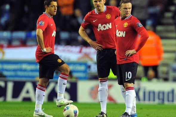 Se escuchó el silbatazo final y ni los Rooney, 'Chicharito' y demás pudi...