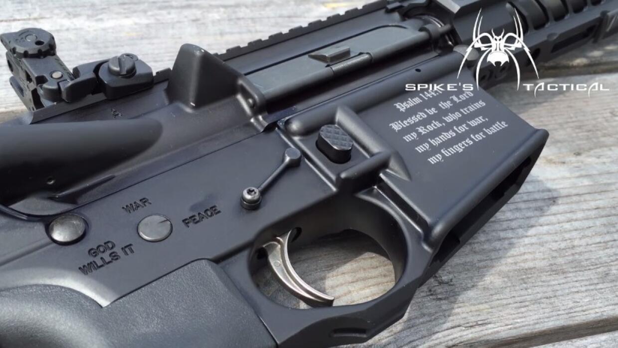 Rifle 'cristiano' - Salmos