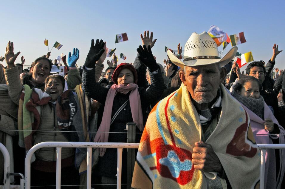 El Papa el domingo en México.