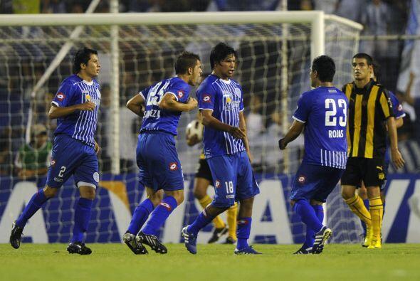 Cuando Godoy Cruz empató el juego con el gol de Rubén Ramírez, la espera...