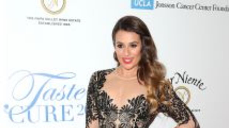 Lea Michele revela varias intimidades de su vida en Brunette Ambition.